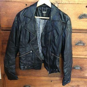 Faux Leather Zara Biker Jacker